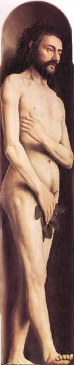 The Ghent Altarpiece Adam