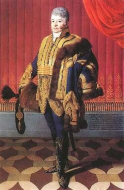 Portrait Of Count Ferenc Barkoczy