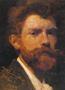 Kroyer Peder Severin Autorretrato 1879