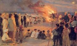 Kroyer Peder Severin Playa de Skagen 1903