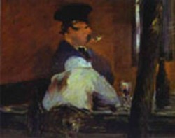 in the bar le bouchon 1878 1879 XX the pushkin museum of fine art moscow russia