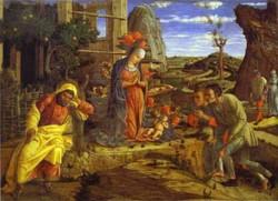 the adoration of the shepherds the metropolitan XX museum of art new york usa