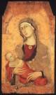SIMONE MARTINI Madonna And Child From Lucignano d Arbia