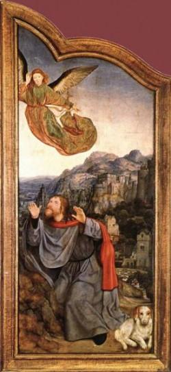 St Anne Altarpiece left wing