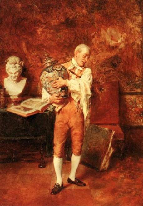 Le valet de chambre by jean charles meissonier for Valet de chambre original