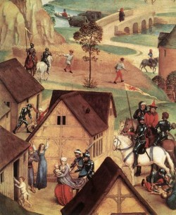 Advent and Triumph of Christ 1480 detail1