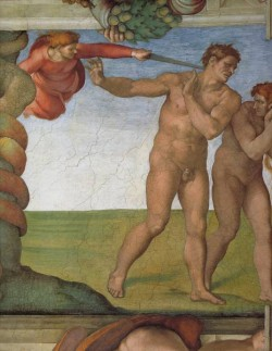 Sistine Chapel Ceiling Genesis The Fall and Expulsion from Paradise The Expulsion