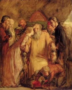 Millais Sir John Everett Lear And Cordelia