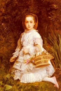 Millais Sir John Everett Portrait Of Gracia Lees