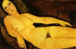 nude on a divan 1918 XX the national gallery of art washington dc usa