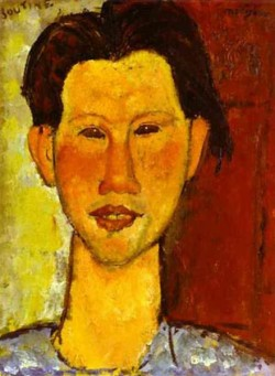 portrait of chaim soutine 1915 XX staatsgalerie stuttgart germany