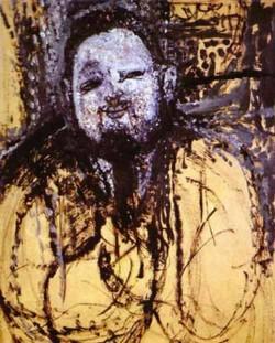 portrait of diego rivera 1914 XX museo de arte sao paolo brazil