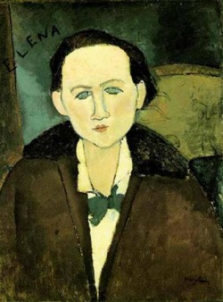 portrait of elena pavlowski 1917 XX the phillips collection washington dc usa