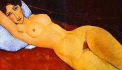 reclining nude 1917 XX staatsgalerie stuttgart germany