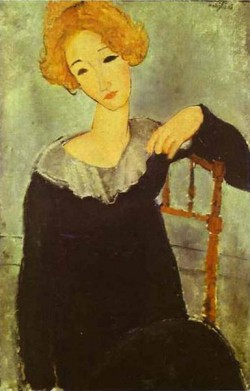 woman with read hair 1917 XX the national gallery of art washington dc usa
