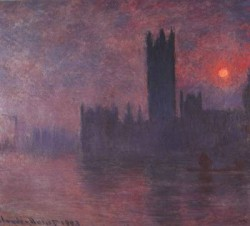 London Houses of Parliament at Sunset CGF