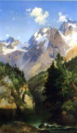 A Rocky Mountain Peak Idaho Territory