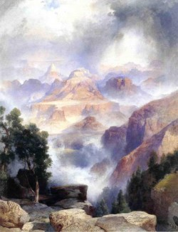 A Showrey Day Grand Canyon