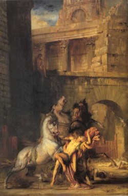Diomedes Devoured by his Horses