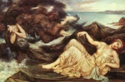 port after stormy seas spensers faerie queene 1905