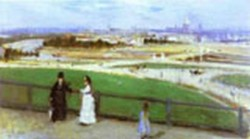 view of paris from the trocadero 1872 XX the santa barbara museum of art santa barbara ca usa