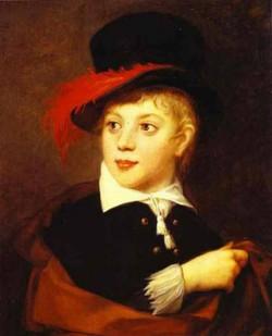 portrait of count alexander stroganoff 1794 1814 1805 XX the russian museum st petersburg russia