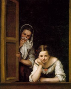 Murillo A Girl and her Duenna