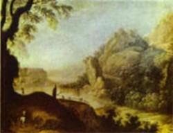 landscape XX museo del prado madrid spain