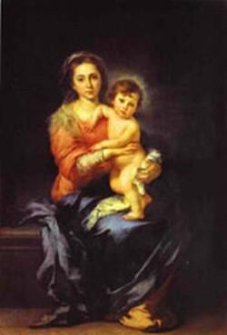 madonna and child palazzo pitti XX galleria palatina florence italy