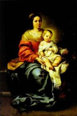 madonna of the rosary palazzo pitti XX galleria palatina florence italy