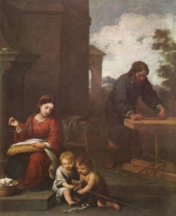 Murillo Holy Family with the Infant St John