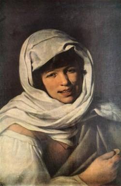 Murillo The Girl with a Coin Girl of Galicia