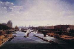 Le pont de solferino Paris