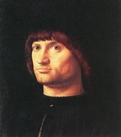 portrait of a man il condottiere 1475 XX musee du louvre paris