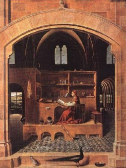 st jerome in his study 1460 XX national gallery london