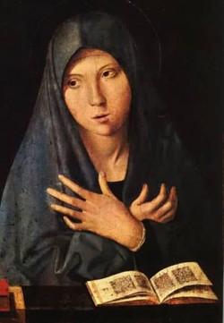 virgin of the annunciation XX alte pinakothek munich