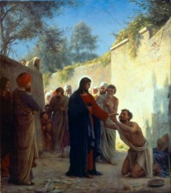 Carl Heinrich Bloch Christ Healing