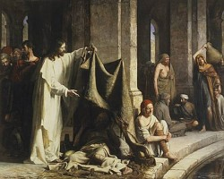 Carl Heinrich Bloch Christ Healing by the Well of Bethesda