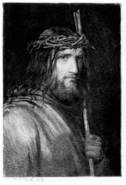 Carl Heinrich Bloch Christ Portrait