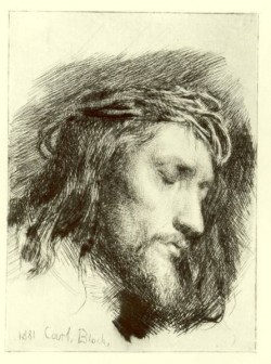 Carl Heinrich Bloch Portrait of Christ