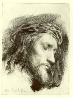 Carl Heinrich Bloch Portrait of Christ