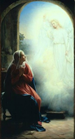 Carl Heinrich Bloch The Annunciation
