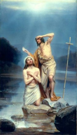 Carl Heinrich Bloch The Baptism of Christ