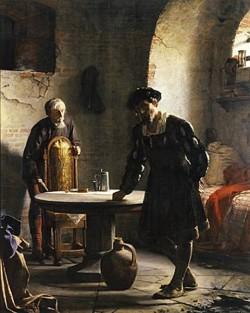 Carl Heinrich Bloch The imprisoned Danish King Christian II