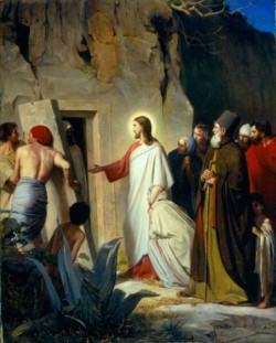 Carl Heinrich Bloch The Raising of Lazarus