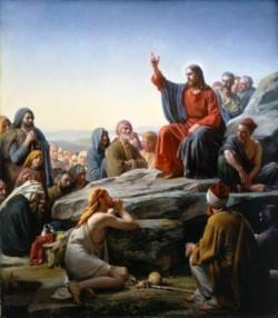 Carl Heinrich Bloch The Sermon on the Mount