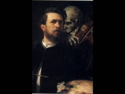 Self portrait with Death