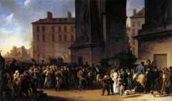 Departure Of The Conscripts In 1807