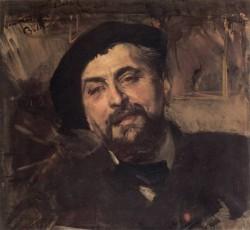 Boldini Portrait of the Artist Ernest Ange Duez