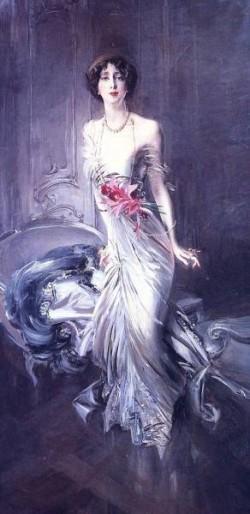 Portrait of Madame E L Doyen